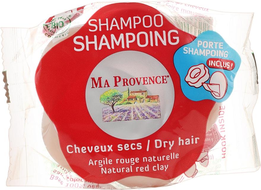 """Bioshampoo solido per capelli secchi """"Argilla rossa"""" - Ma Provence Shampoo"""