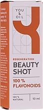 Profumi e cosmetici Siero viso - You & Oil Beauty Shot 04 100% Flavonoids Face Serum