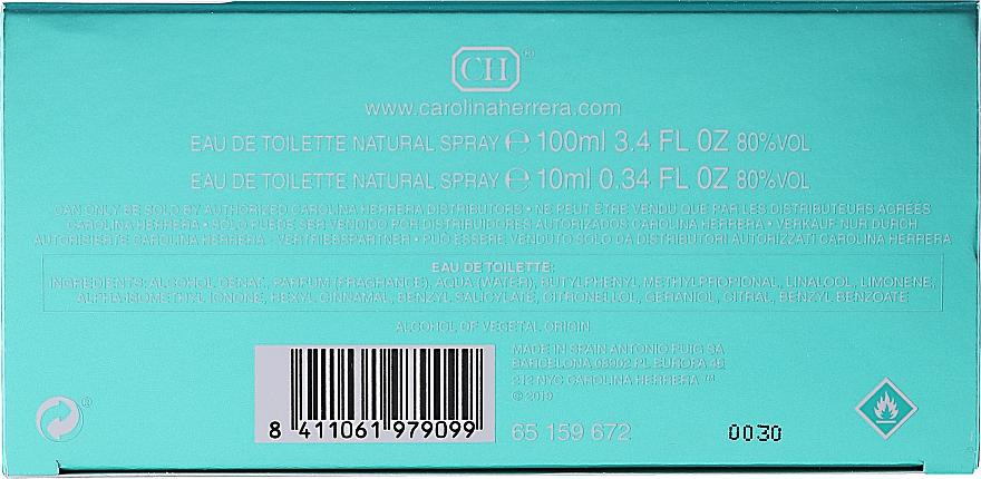 Carolina Herrera 212 For Women - Set (edt/100ml + edt/mini/10ml) — foto N2