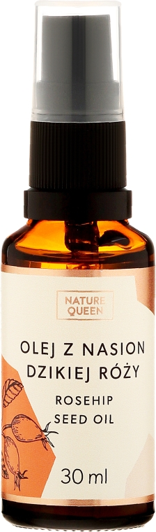 """Olio cosmetico """"Rosa canina"""" - Nature Queen Rosehip Seed Oil"""