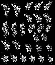 Profumi e cosmetici Adesivi per la progettazione delle unghie - Peggy Sage Decorative Nail Stickers Pink Line White Line
