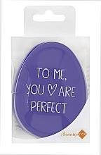 Profumi e cosmetici Spazzola per capelli, viola - Beauty Look Tangle Definer Petite Violet