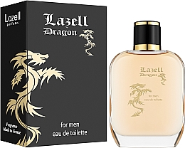 Profumi e cosmetici Lazell Dragon for men Edt - Eau de toilette