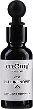 Profumi e cosmetici Acido ialuronico 5% - Creamy
