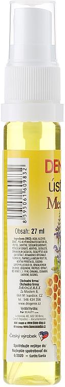 Collutorio rinfrescante - Bione Cosmetics Dentamint Mouth Spray Honey + Propolis — foto N2