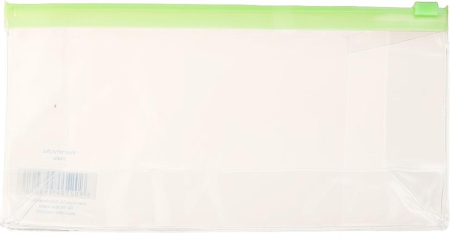 Borsa cosmetica da viaggio, 499306, verde trasparente - Inter-Vion — foto N1