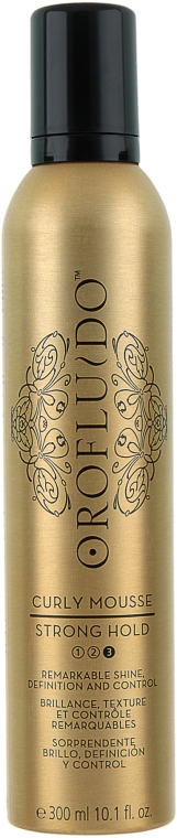 Mousse - Orofluido Curly Mousse Strong Hold