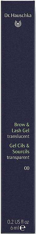 Gel trasparente per sopracciglia e ciglia - Dr. Hauschka Brow and Lash Gel — foto N3