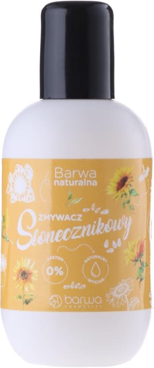 Solvente per unghie a base di olio di girasole - Barwa Natural Nail Polish Remover
