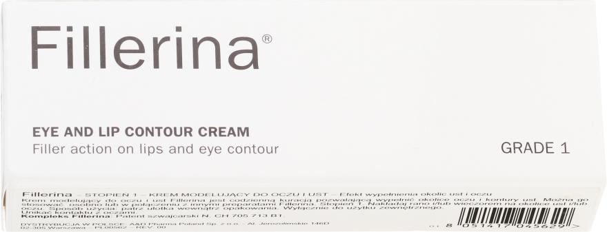 Crema contorno occhi e labbra, livello 1 - Fillerina Eye And Lip Contour Cream Grade 1