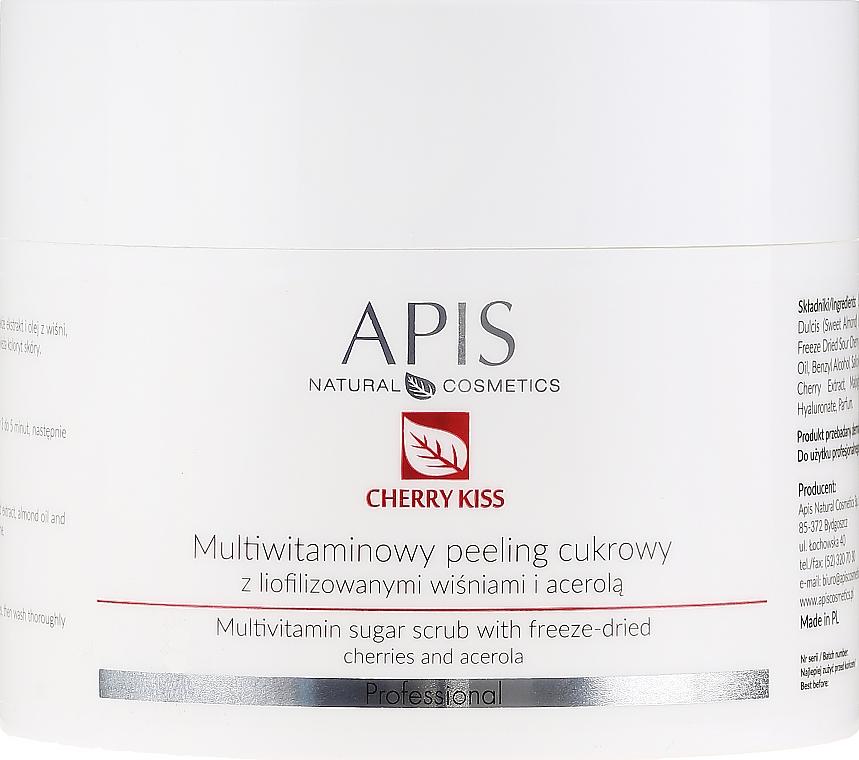 Peeling allo zucchero multivitaminico - APIS Professional Cheery Kiss