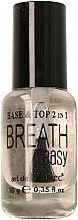Profumi e cosmetici Base e top per smalto-gel 2 in 1 - Art de Lautrec Breath Easy Base Top