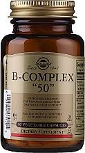 """Profumi e cosmetici Vitamine del complesso B - Solgar B-Complex """"50"""""""