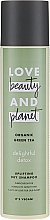 Profumi e cosmetici Shampoo secco con estratto di tè verde - Love Beauty&Planet Organic Green Tea Uplifting Dry Shampoo