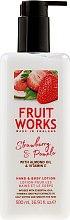 Profumi e cosmetici Lozione per mani e corpo - Grace Cole Fruit Works Hand & Body Lotion Strawberry & Pomelo