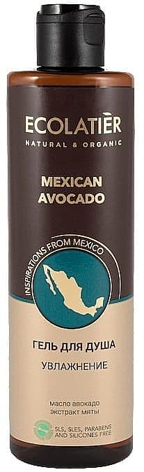 Gel doccia idratante - Ecolatier Mexican Avocado — foto N1