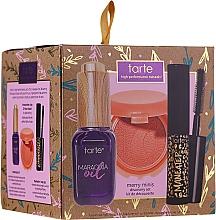 Profumi e cosmetici Set - Tarte Cosmetics Discovery Surprise Xmas Merry Minis Set (face/oil/7ml+mascara/4.5ml+blush/1g)