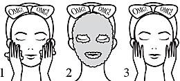 Maschera detergente bicomponente per viso - Double Dare OMG! 2in1 Kit Detox Bubbling Microfiber Mask — foto N2