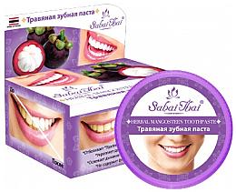 Profumi e cosmetici Dentifricio con mangostano - Sabai Thai Herbal Mangosteen Toothpaste