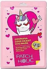 Profumi e cosmetici Patch occhi - Patch Holic Costopia Love Heart Eye Mask