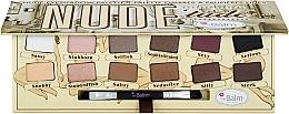 Profumi e cosmetici Palette ombretti - TheBalm NudeTude Eyeshadow Palette