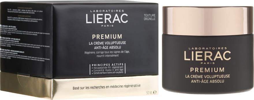 Crema viso, consistenza originale - Lierac Premium la Creme Voluptueuse Texture Originelle