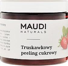 """Profumi e cosmetici Scrub corpo allo zucchero """"Fragola"""" - Maudi"""