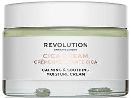 Profumi e cosmetici Crema idratante e lenitiva - Revolution Skincare Cica Calming & Soothing Moisture Cream