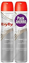 Profumi e cosmetici Set - Byly Sensitive (deo/2x200ml)