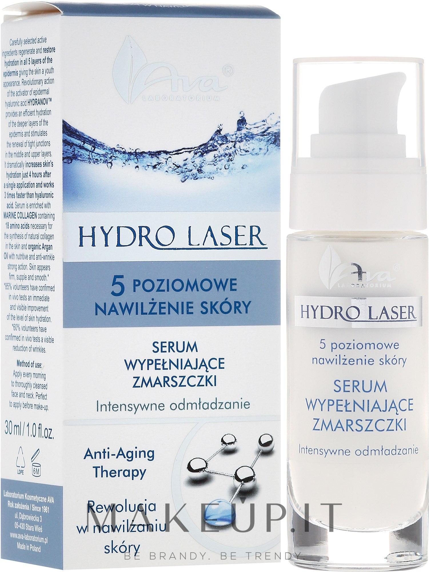 Siero anti rughe - Ava Laboratorium Hydro Laser Serum — foto 30 ml
