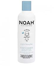 Profumi e cosmetici Shampoo per bambini con latte e zucchero per capelli lunghi - Noah Kids Shampoo milk & sugar for long hair