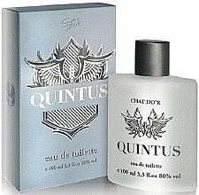 Profumi e cosmetici Chat D'or Quintus - Eau de toilette