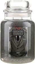 Profumi e cosmetici Candela profumata in vetro - Country Candle Grey