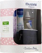 Profumi e cosmetici Set - Mustela Welcome Baby Set Pink (b/gel/200ml + b/cr/50ml + b/oil/100ml + case)