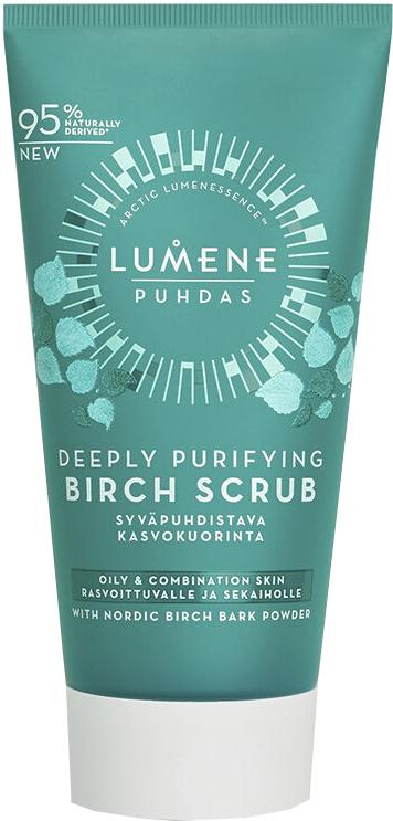 Scrub viso pulizia profonda - Lumene Puhdas Deeply Purifying Birch Scrub