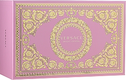 Profumi e cosmetici Versace Bright Crystal - Set (edt/90ml + edt/10ml + pounch)