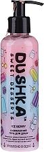 "Profumi e cosmetici Gel doccia rinfrescante ""Ice Berry"", con dosatore - Dushka Sweet Desserts Ice Berry Shower Gel"