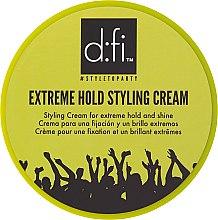 Profumi e cosmetici Crema-styling dei capelli - D:fi Extreme Hold Styling Cream