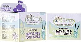 Profumi e cosmetici Salviette per neonati per la pulizia di denti e gengive - Jack N' Jill