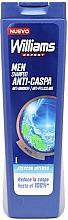 Profumi e cosmetici Shampoo anti forfora - Williams Refresh Anti-Dandruff Shampoo