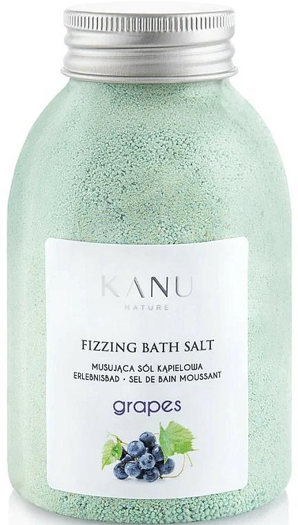 "Sale da bagno frizzante ""Uva"" - Kanu Nature Grapes Fizzing Bath Salt"