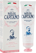 Profumi e cosmetici Dentifricio per denti sensibili - Pasta Del Capitano Premium Collection Sensitive Toothpaste