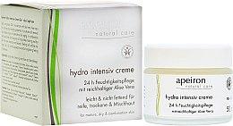Profumi e cosmetici Crema idratante intensiva - Apeiron Hydro Intensiv Cream 24h