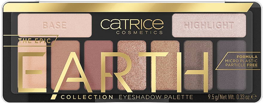 Palette ombretti - Catrice The Epic Earth Collection Eyeshadow Palette