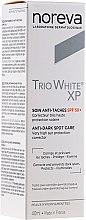 Profumi e cosmetici Crema schiarente - Noreva Laboratoires Trio White XP Anti-Dark Spot Care SPF 50+
