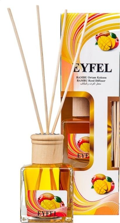 "Aroma diffusore ""Mango"" - Eyfel Perfume Reed Diffuser Mango"