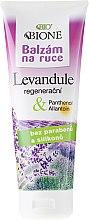 Profumi e cosmetici Balsamo per mani - Bione Cosmetics Lavender Hand Ointment