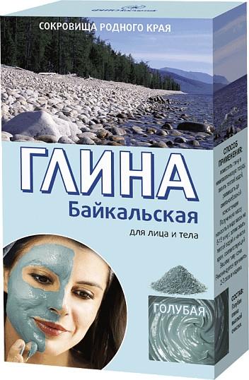 """Argilla viso e corpo """"Baikal"""", azzurra - Fito cosmetica"""
