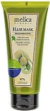 Profumi e cosmetici Maschera ristrutturante per capelli - Melica Organic Regenerative Hair Mask