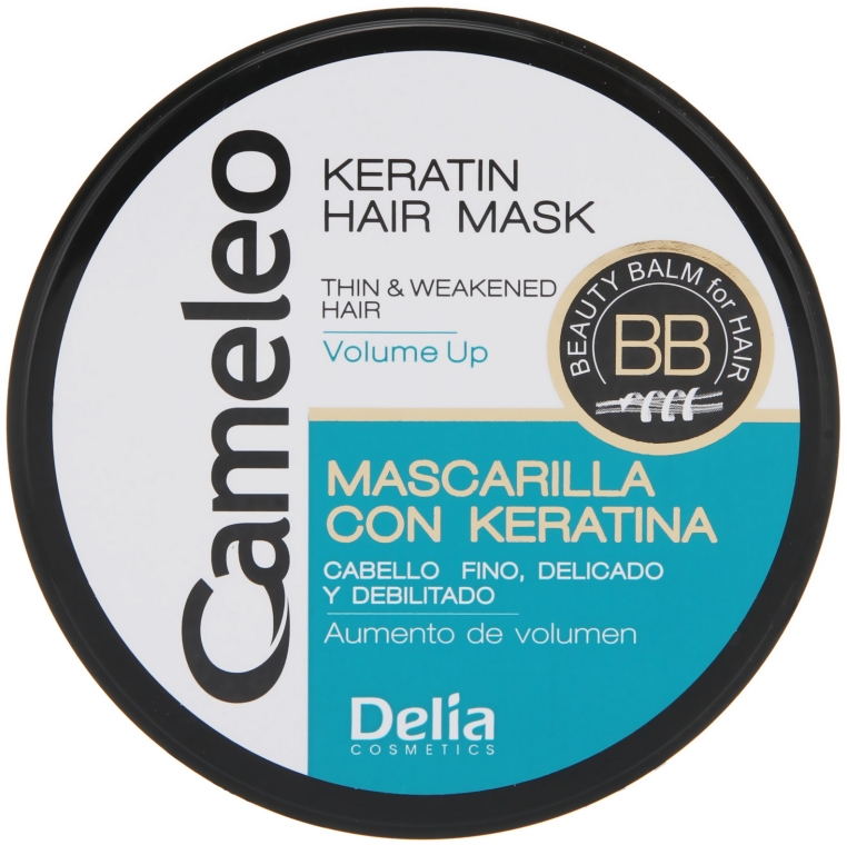 Maschera volume capelli, alla cheratina - Delia Cameleo Mask — foto N1